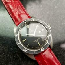 Midsize Omega Seamaster 120 Automatic w/Date 566.00007, c.1960s Vintage LV617RED