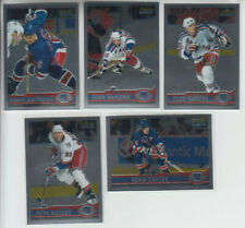 99/00 OPC Chrome New York Rangers 5 cards  Malhotra MacLean Graves Nedved Harvey