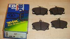FIAT UNO,REGATA,PUNTO EBC STANDARD FRONT BRAKE PADS DP420/2 QUALITY BRAKE PADS