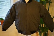 VTG Gray Eddie Bauer Mens Size XL Goose Down Jacket Coat Puffy