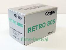 5 rolls Rollei RETRO 80S B&W Film 35mm 36exp