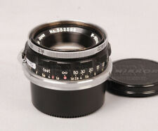 W-Nikkor 35mm f1.8 for Nikon S S2 S3 SP Film RF Camera from JAPAN #016488