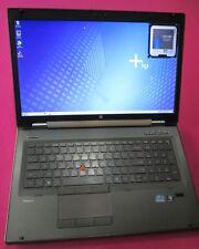 HP 8760w elitebook laptop I5-2540m 2.6-3.3Ghz 8GB ram NEW 500GB K2000M W7 1080