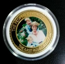 ENGLAND COMMEMORATIVE COINS OF LADY DIANA-PRINCES OF WALES (1961-1997)  COIN # 5