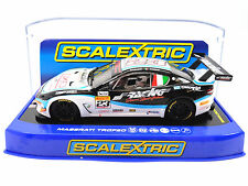 "Scalextric ""Simoni Sport Action"" Maserati Trofeo DPR 1/32 Scale Slot Car C3602"