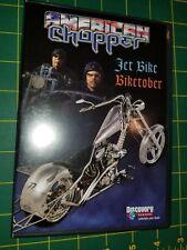Rare AMERICAN CHOPPER Jet Bike Pilot Episode & Biketober 2nd Pilot Episode 1 DVD