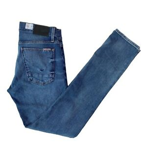Men's Hudson Jeans 31X32 Blake Slim Straight Fit