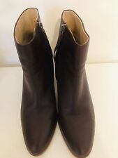 White Stuff Oxblood Ankle Boots 7 Leather