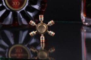 Fidget Finger Spinner Brass Metal EDC Bearing Stress Toy