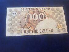100 Netherlands Gulden banknotes dated 9/1/92