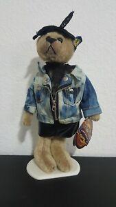 Vintage 1980's Brass Button Bear -  ROXY with Jacket