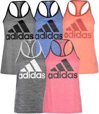 ✔ ADIDAS HI5 Logo Damen Muskelshirt Tanktop Unterhemd Fitnessshirt Sport Top