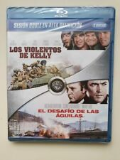 Los Violentos de Kelly + El Desafío de las Aguilas Blu-ray ESPANA NEW SEALED