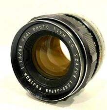 Fuji Fujinon 55mm f/1.8 Prime Standard Lens for M42 Screw Mount - Excellent