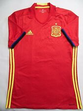 5/5 Team Spain Espana 2015~2016 Adidas Football Soccer Camiseta Shirt Jersey