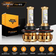Auxbeam H13 LED Headlight for Dodge Ram 1500 2500 3500 2006-12 High Low Beam Kit