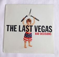 "BAD DECISIONS LP by The Last Vegas 12"" Vinyl Record 12 Songs >NEW<"