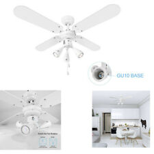 """Home LED ceiling fan light 42""""+ Speed Setting pull cord,4 Blades,winter&Summer"""