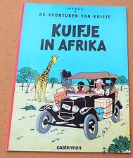 Tintin au Congo. Album en néerlandais. Kuifje in Afrika. 1986, broché