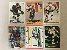 New listing NHL hockey card lot. Wayne Gretzky, Mario Lemieux, Hull, Topps