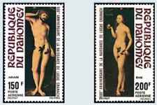 Timbres Arts Tableaux Dahomey PA170/1 * lot 26692