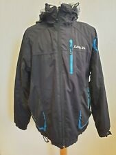 M757 MENS DARE 2B ISOTEX 10000 BLACK HOODED SKI SNOWBOARDING JACKET UK L EU 52