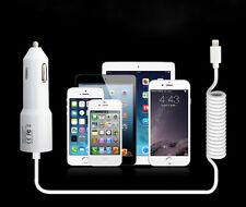 Acessórios Carregador bateria de Carro para iPhone 5 5S 5E 5C 6 6S Plus 7 8 X