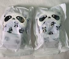 4 Cute Panda Teething Mittens for Baby, Teether Toy, Teething Mitt