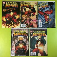 2007 Captain Marvel #1 2 3 4 5 Limited Series 6 Complete Set Reed Marvel NM 9.4