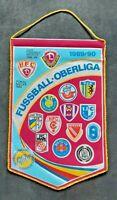 Orig. Wimpel DDR Oberliga 1989/90 Fussball Jahreswimpel BFC Dynamo Leipzig Lok