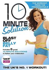 10 TEN MINUTE SOLUTION BLAST OFF BELLY FAT Lose Tummy Workout Exercise New DVD