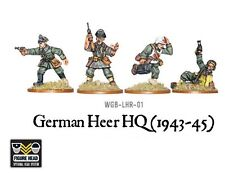 WARLORD GAMES Bolt ACTION NUOVO con scatola tedesco Heer HQ (1943-45) wgb-lhr-01