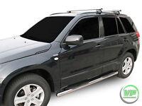 Suzuki Grand Vitara mk2 5 door Side bars CHROME stainless steel side step