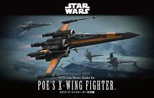 Bandai Star Wars Poe's X-Wing Fighter 1/72 Scale 210500 Model Kit US Seller USA