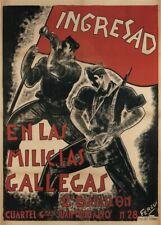 Ingresad, 1937, Spanish Civil War Propaganda Poster