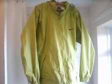 Nike Olive Green Running / Raincoat UK Men size Large - loose fit -Hidden hood