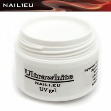 "PROFI French-Gel UV weiß ""NAIL1EU ULTRAWHITE"" 7ml/ Nagelgel, Farbgel French Gel"