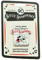 Disney Store Mickey Mouse Silly Symphony 90th Anniversary Pin Limited Release