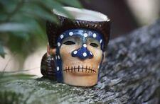 Tiki Mug Shrunken Head Mai Kai Tahitian Coffee Mug New In Original Box
