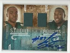 LeSEAN McCOY Autographed Signed 2009 Panini JERSEY card Philadelphia Eagles