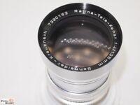 Kodak Retina Reflex Tele Xenar 1:4/135mm Objektiv (wie neu)
