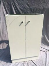 Floor Standing Bathroom Vanity Unit White Gloss Soft Close Alpine Duo 495 (4080)