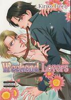 Weekend Lovers by Kiriko Fuwa (2008 PB) Yaoi Manga in English OOP
