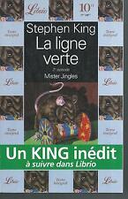 La ligne verte T2.Mister Jingles. Stephen KING.Librio  SF60