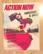 Powell Peralta Caballero Action Now Skateboard Magazine Ad Mini Poster 70'S
