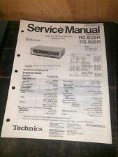 Technics RS-B28R,928R cassette Deck Service Manual