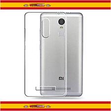 Funda TPU 100% de Gel Silicona Transparente Para Xiaomi Redmi Note 3 Pro Slim
