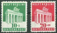 Alliierte Besetzung Bizone 101 - 102 sauber postfrisch Berlin Hilfe 1948 MNH