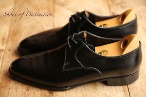 Men's John Lobb Marston Black Calf Leather Lace Up Shoes UK 8 EE US 9 EE EU 42
