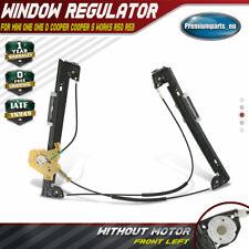 Window Regulator w/o Motor Front Left for Mini One Cooper S R50 R53 51337039451